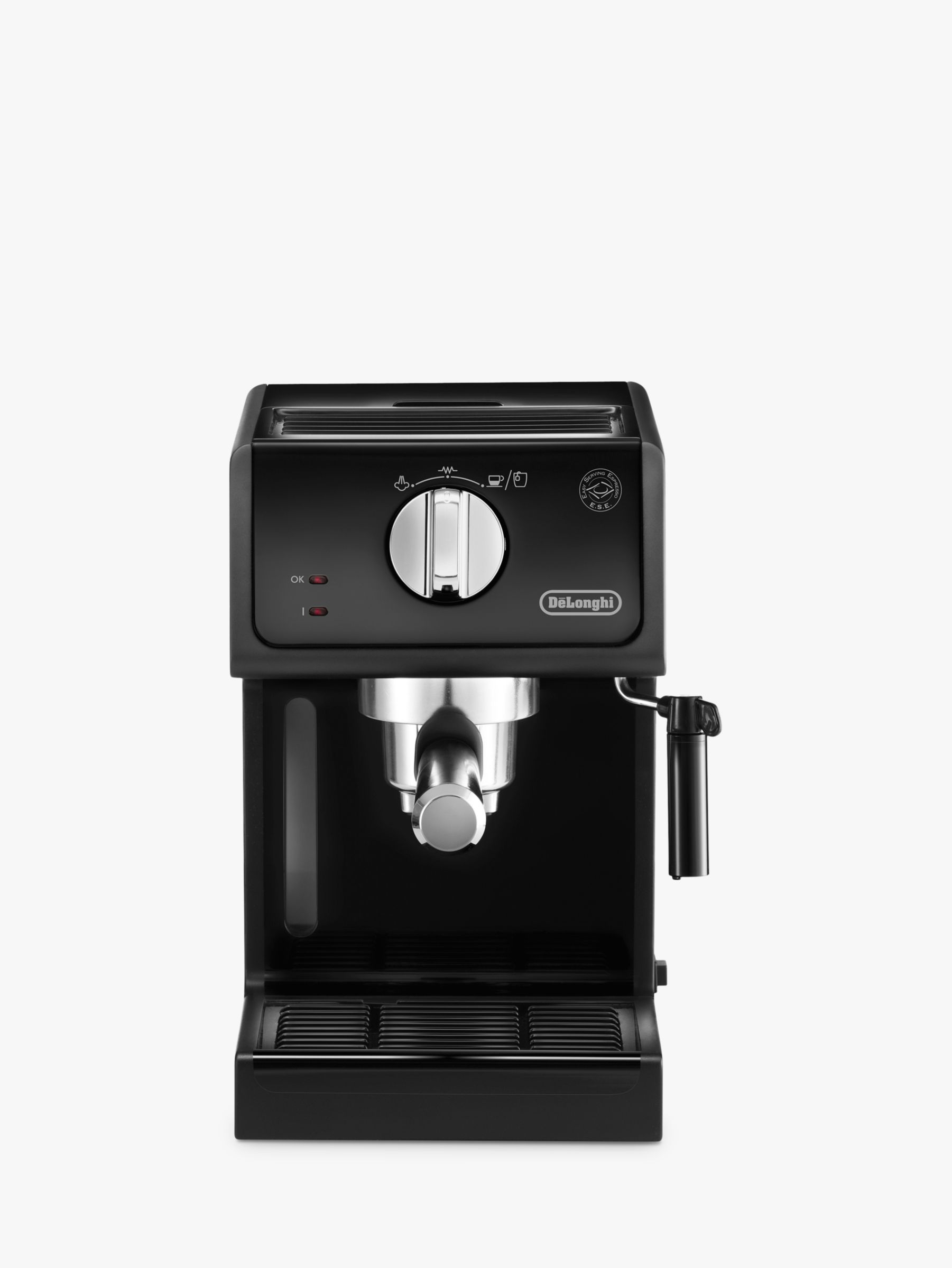 Italian Coffee Maker John Lewis : Buy De Longhi ECP Espresso Coffee Maker, Black John Lewis